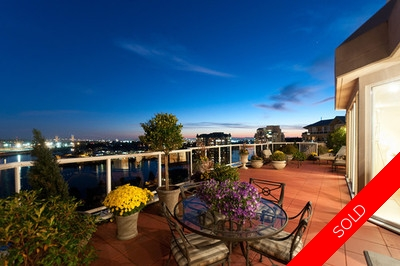 New Westminster Quay Sub Penthouse for sale: THE RIVIERA MANSIONS 3 bedroom 4,324 sq.ft. (Listed 2012-10-08)